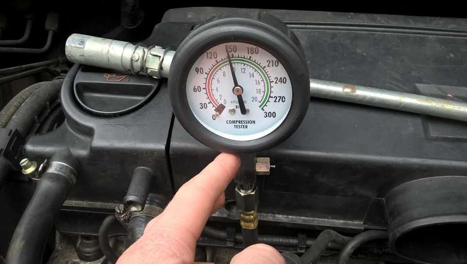 Замер компрессии на холодную или горячую