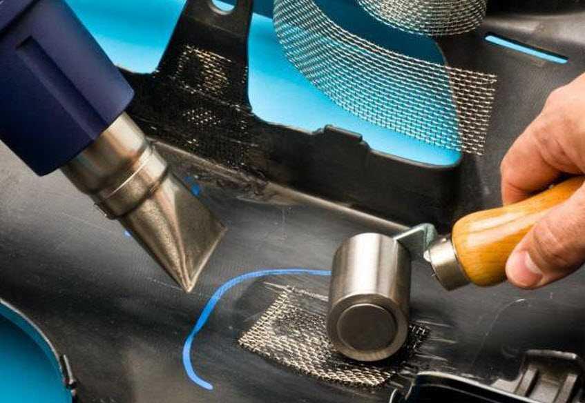 Ремонт пластикового бампера своими руками: все методы восстановления