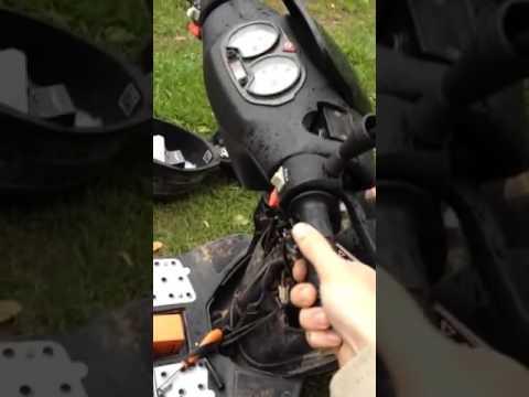 Плохой холодный пуск на скутере: виноват эк | мастерская pitstop