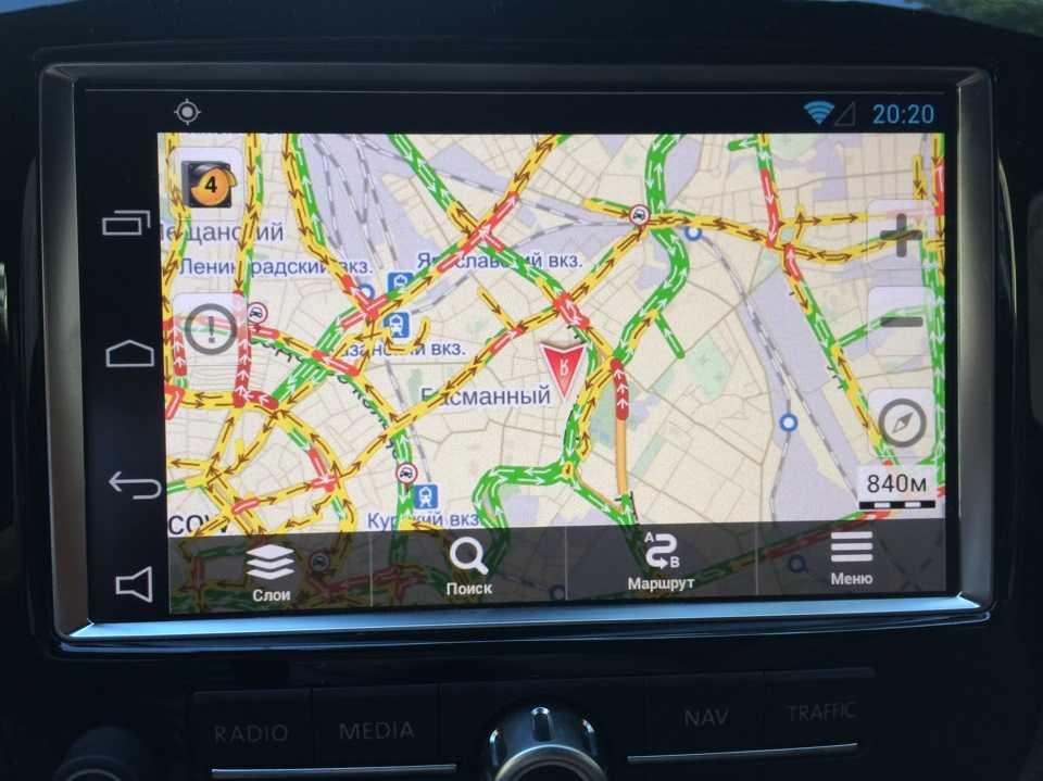 Системы навигации автомобиля