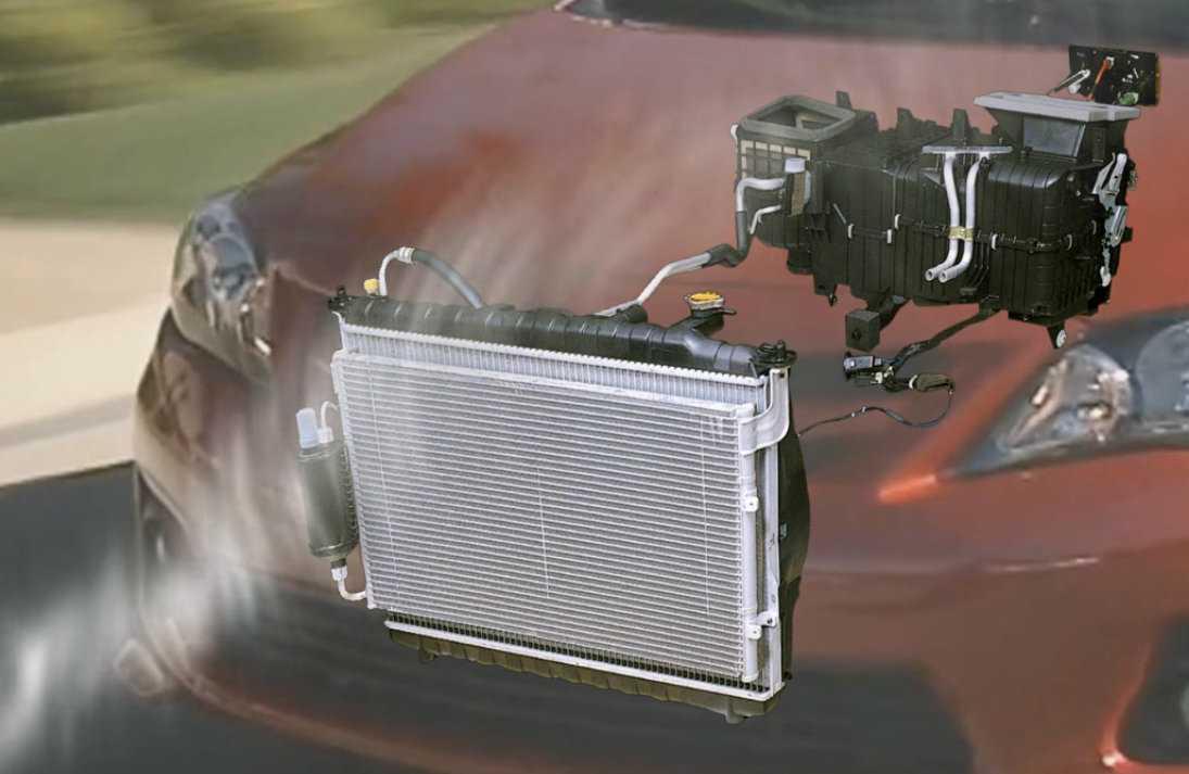 Автомобильный кондиционер: принцип работы и устройство