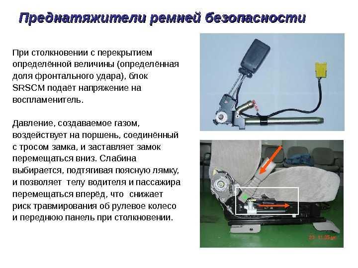 Ремонт ремней безопасности - своими руками, задних и передних