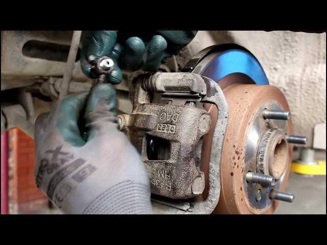 Замена заднего тормозного цилиндра ваз 2109 своими руками