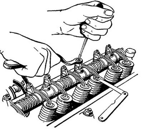 Регулировка зазоров клапанов: 2 варианта