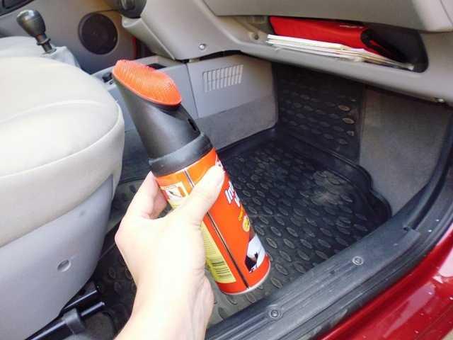 Мойка и чернение шин в домашних условиях