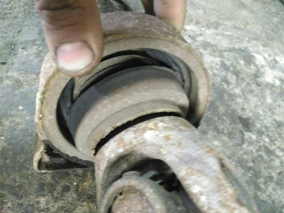 Ремонт карданной передачи производится