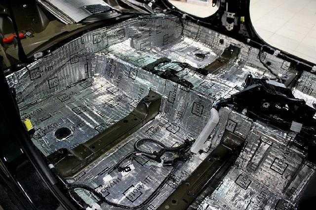 Работа по шумоизоляции автомобиля своими руками