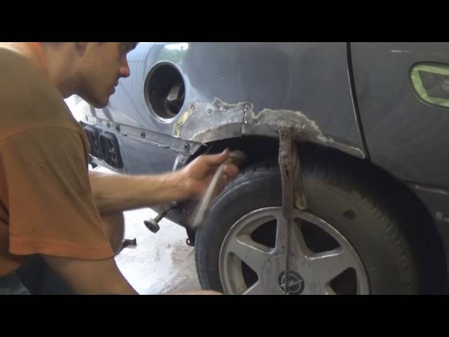 Сварка кузова автомобиля своими руками, видео
