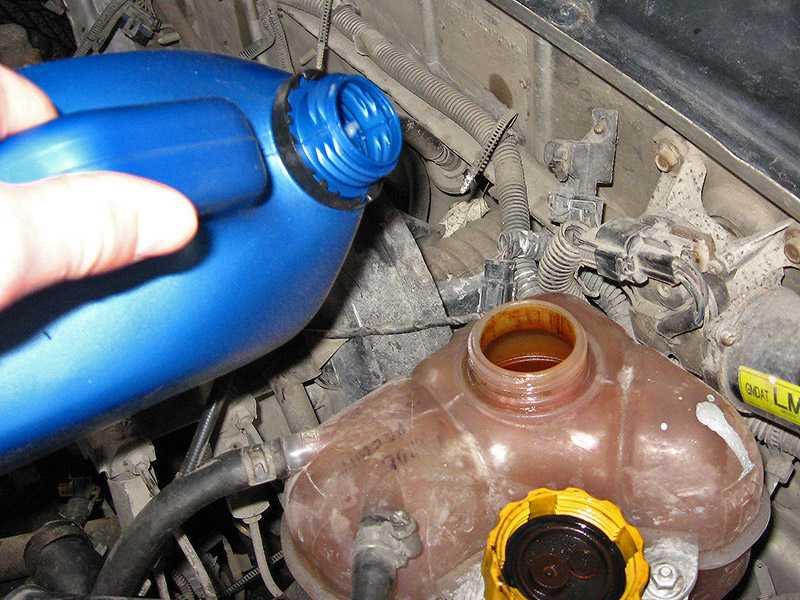 Замена охлаждающей жидкости: нужно ли промывать систему охлаждения?