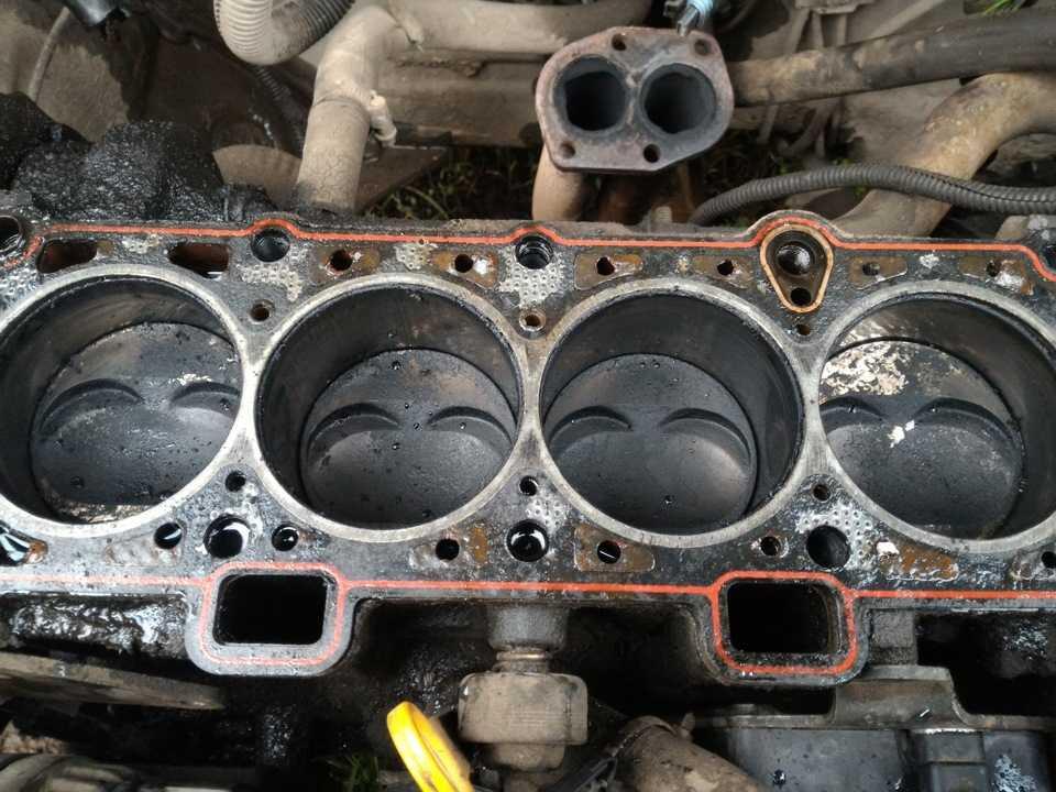 Что делать если стуканул двигатель