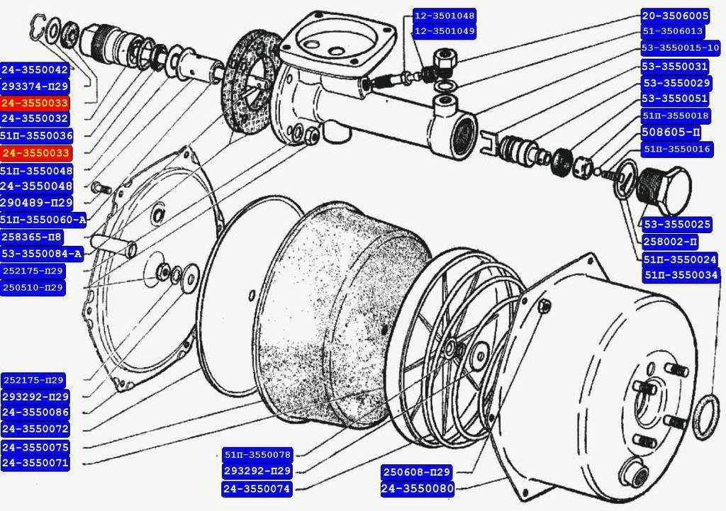 Вакуумный усилитель тормозов «газели»: неисправности и ремонт