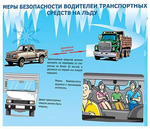 Обеспечение безопасности, техника безопасности при транспортировке груза