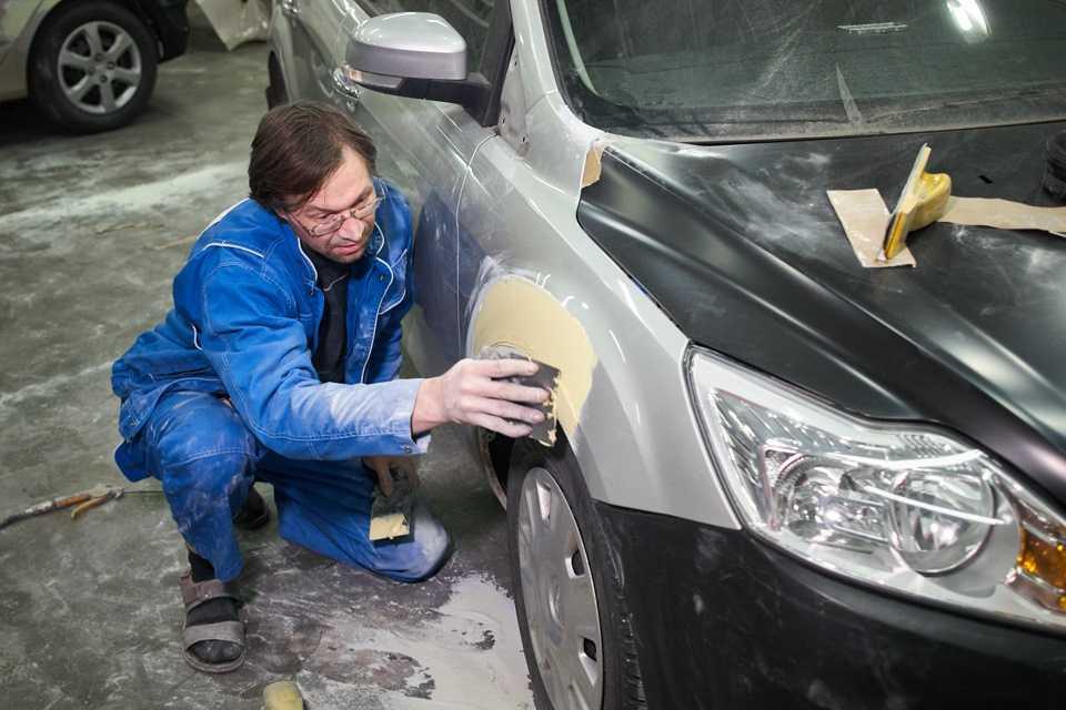 Кузовной ремонт своими руками в гараже