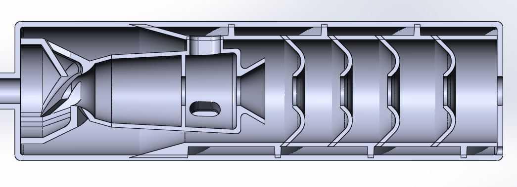 Разработка конструкции нагнетателя смазки