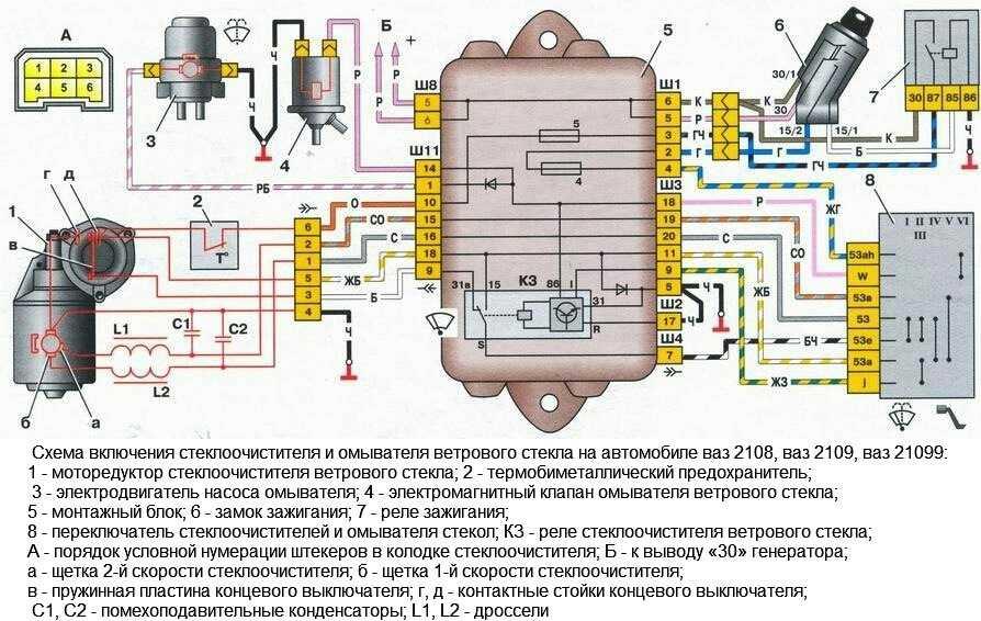 Не работает омыватель лобового стекла: ищем причину самостоятельно!   autoposobie.ru