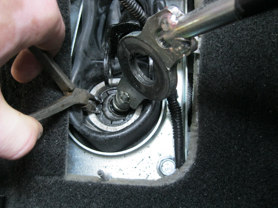 Устройство рычага переключения передач, неполадки и ремонт